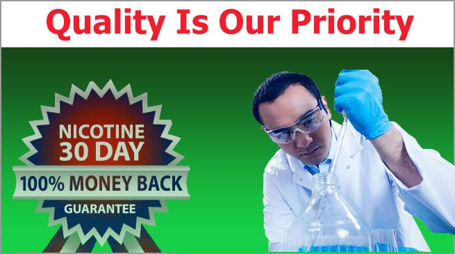 Quality is our top priority at Nicotine Giant
